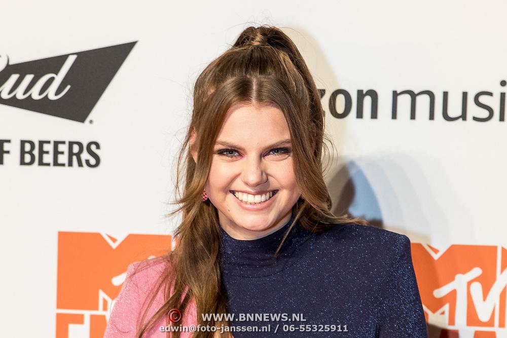NLD/Amsterdam/20191028 - MTV Pre Party in Amsterdam, Britt Scholte