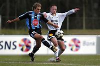 Apeldoorn, 24-03-2003<br /> Testmatch between Fredrik Winsnes,  Rosenborg (N) en Johan Arneng, Djurgården (S).<br /> Both teams are preparing for the next season in Sweden and in Norway<br /> Location: AGOVV, Apeldoorn, Netherlands