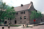 CHICAGO, HISTORIC ARCH. Glessner House built by H. H. Richardson, 1884-86 1800 S. Prairie Ave.