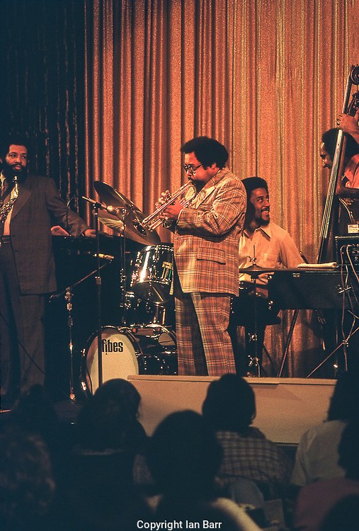 Nat Adderley and Cannonball Adderley Walter Booker and Roy McCurdy, Jam on the SS Rotterdam 1974 Jazz Cruise.