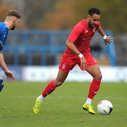TELFORD COPYRIGHT MIKE SHERIDAN Brendon Daniels of Telford during the Vanarama National League Conference North fixture between Curzon Asthon and AFC Telford United on Saturday, November 9, 2019.<br /> <br /> Picture credit: Mike Sheridan/Ultrapress<br /> <br /> MS201920-028