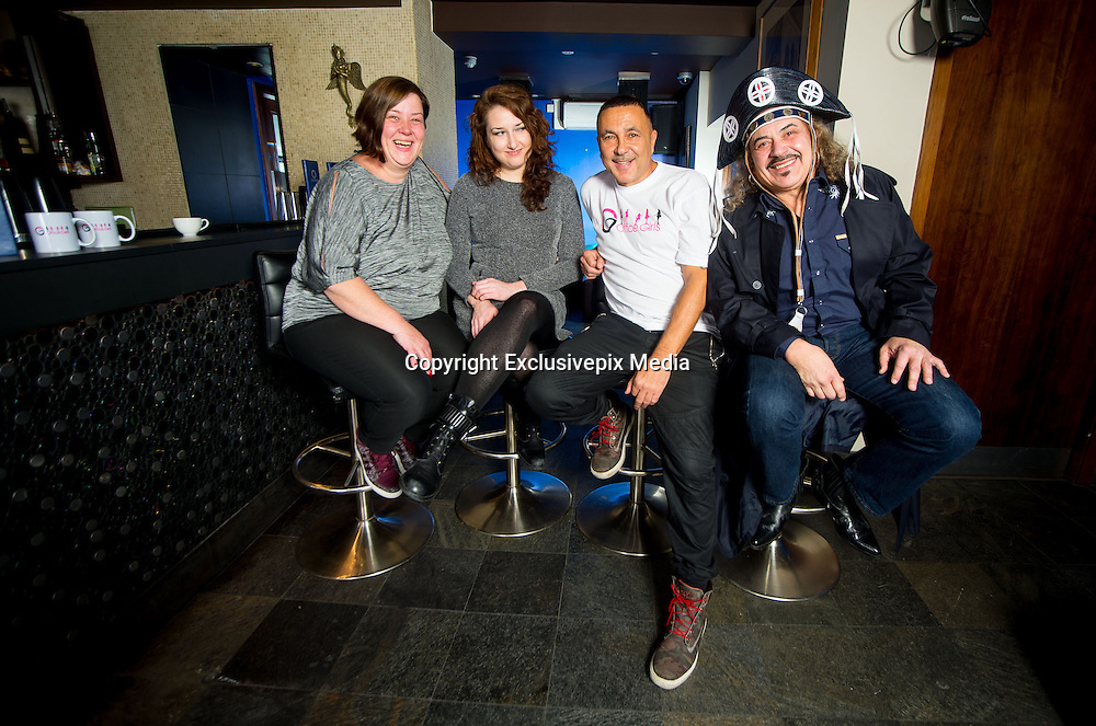 """white dee arrives at in London as a judge for a new singing Competition """"The OfficeGirls""""<br /> <br /> according to the """"Office GirlsPR"""" the show is searching to recruit members of the next girl group, Office Girls. <br /> <br /> The PR went on to say """"this project to help young British women and to truly represent British office girls and workers who normally don't get a voice.""""<br /> <br /> """"we are delighted Dee ,Sam Barton and Wagner have agreed to help find this new group""""<br /> <br /> it seems Simon cowell is safe for his job on the X-Factor ...for now<br /> <br /> Photo Shows: American Singer Brooke Nicholson, White dee and Wagner the new judges <br /> ©Exclusivepix Media<br /> <br /> <br /> Below press release from PR company...<br /> <br /> YOU COULD BE IN THE NEXT BIG GIRL GROUP<br />    <br /> Tomes PR are pleased to announce from New York a search for the new stars of 2015. There will be secret talent scouts at many Christmas parties this year, checking out the queens of Karaoke. This search has now started to recruit members of the next girl group, Office Girls. <br /> <br /> The three major founders behind this wish to remain anonymous but are responsible for many hits over the last 30 years. They have appointed Tomes PR as the official world-wide representatives for the project. Spokesperson Barry Tomes says, """"This is a very exciting project. We plan auditions in the UK throughout January 2015. Venues and dates will be announced next month. In the meantime, if you think you have a global superstar sitting at the desk next to you, you can have them submit a photograph and short recording of their voice. *See link for criteria*<br /> <br /> Our sources tell us that the mystery founders behind the new Office Girls Group, have turned down offers from 2 very highly placed American celebrities, both who want to be in the group to get a chance to work with the founders. Unfortunately they have been turned down by the organization, because they want this proje"""