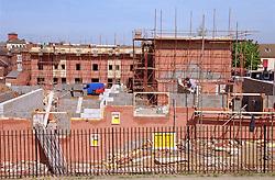 Renovation of Radford flats in Nottingham,