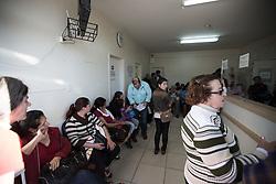 Pronto Atendimento 24hrs fica lotado. Parte da demanda de cidades menores da região é enviada para o município de 75 000 habitantes. Casos de alta complexidade só são resolvidos em Porto Alegre. FOTO: Jefferson Bernardes/Preview.com