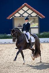 VAN DER PUTTEN Marieke (NED), Her Majesty TF RS2<br /> Hagen - Horses and Dreams 2019<br /> Grand Prix de Dressage CDI4* Special Tour<br /> 27. April 2019<br /> © www.sportfotos-lafrentz.de/Stefan Lafrentz