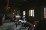 Orawski Park Etnograficzny w Zubrzycy Górnej, wnętrze dworu Moniaków