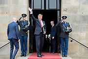 Koningspaar biedt Corps Diplomatique diner aan in het Paleis op de dam /// Royal Couple offers Corps Diplomatique dinner in the Palace on the dam<br /> <br /> Op de foto / On the photo:  Koning Willem Alexander / King Willem Alexander