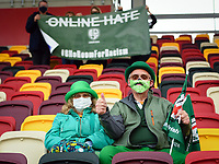 Rugby Union - 2020 / 2021 Gallagher Premiership - Round 19 - London Irish vs Exeter Chiefs - Brentford Community Stadium<br /> <br /> London Irish fans arrive early at the ground.<br /> <br /> COLORSPORT