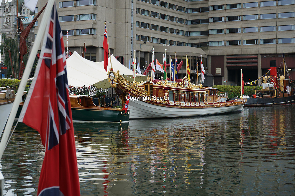 London, England, UK. 8th September 2017. The 9th year of Classic Boat Festival at St. Katharine Docks, London, UK.
