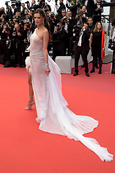 Alessandra Ambrosio attending the opening ceremony and premiere of The Dead Don't Die, during the 72nd Cannes Film Festival.