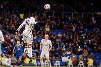 Real Madrid's Carlos Henrique Casemiro during Copa del Rey match between Real Madrid and Celta de Vigo at Santiago Bernabeu Stadium in Madrid, Spain. January 18, 2017. (ALTERPHOTOS/BorjaB.Hojas)