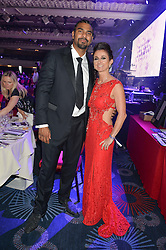 TRUDI BESWICK and DAVID HAYE at The Butterfly Ball in aid of Caudwell Children held at the Grosvenor House, Park Lane, London on 25th June 2015