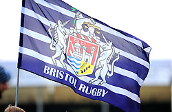 Bristol Rugby flag - Photo mandatory by-line: Dougie Allward/JMP  - Tel: Mobile:07966 386802 21/10/2012 - SPORT - Rugby Union - British and Irish Cup -  Bristol  - The Memorial Stadium - Bristol Rugby V Ulster Ravens