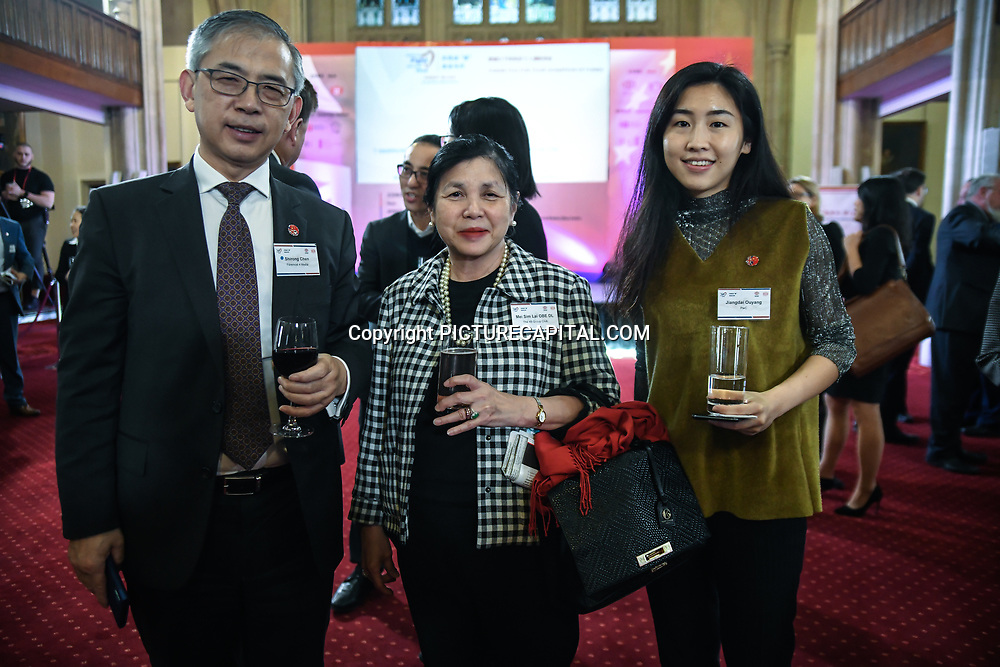 Mei Sim Lai OBE attend China-UK United We Stand together to fights the #Covid19 at Guildhall, on 28th February 2020, London, UK.
