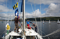 Largs Regatta Week 2017 <br /> Day 1<br /> <br /> Race Committee <br /> <br /> Picture Marc Turner