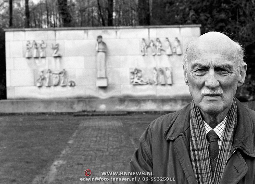 Dhr.Simon Minco uit Soest ex verzetsman 2de wereldoorlog WO II