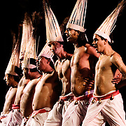 Traditional Indian dancers performing in Tarcento, Italy.