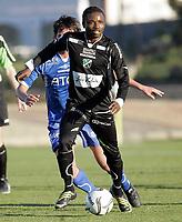 Fotball<br /> La Manga - Spania<br /> 13.03.2009<br /> Notodden v Hønefoss 1-1<br /> Foto: Morten Olsen, Digitalsport<br /> <br /> Umaru Bangura - HØN