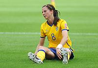 Fotball<br /> VM kvinner 2011 Tyskland<br /> 28.06.2011<br /> Sverige v Colombia<br /> Foto: Witters/Digitalsport<br /> NORWAY ONLY<br /> <br /> Lotta Schelin (Schweden)<br /> Frauenfussball WM 2011 in Deutschland, Kolumbien - Schweden 0:1