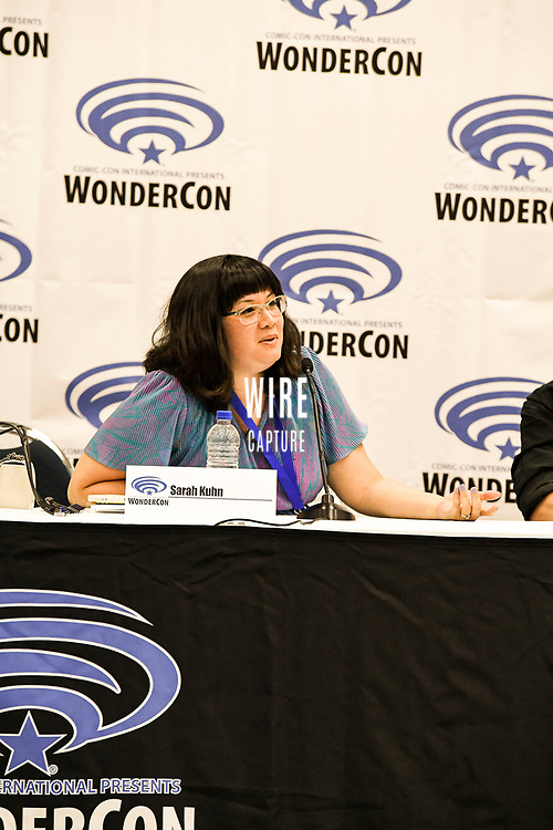 Sarah Kuhn at Wondercon in Anaheim Ca. March 31, 2019