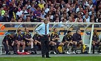 Photo: Richard Lane.<br />Arsenal v Barcelona. UEFA Champions League Final. 17/05/2006.<br />Arsenal's Arsene Wenger.