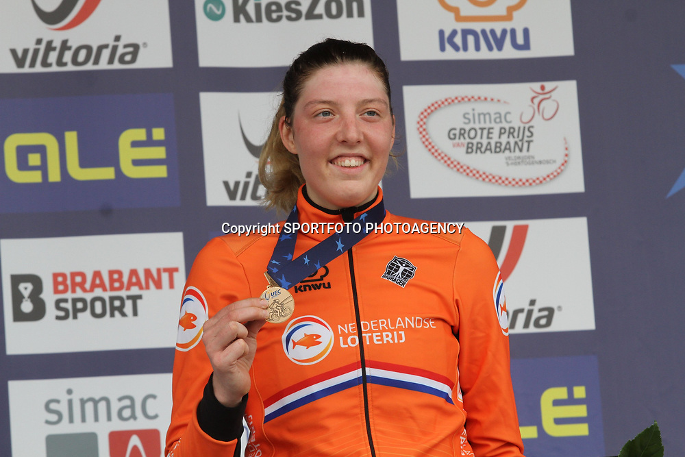 08-11-2020: Wielrennen: EK Veldrijden: Rosmalen<br /> Manon Bakker (Netherlands)