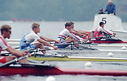 World Rowing Championships, Tampere, FINLAND, 1995, Men's lightweight single sculls, GBR LM1X Peter HAINING.  [Walter Scott Racing Team], Photo  Peter Spurrier/Intersport Images<br />email images@intersport-images.com Re-Edited and file ref No. updated, 16th January 2021.