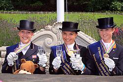Prizegiving Juniors<br /> European Championship Junior 2010<br /> © Hippo Foto - Leanjo de Koster