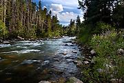 Summer on the Boulder RIver,Montana.