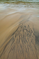 Diseños de arena (Sand Patterns). Playa Dail Beag Beach. Lewis Island. Outer Hebrides. Scotland, UK