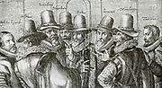 Johan van Oldenbarnevelt (Dutch pronunciation: [jo?? v?? old?(n)b?rn?v?lt] ), Lord of Berkel en Rodenrijs (1600), Gunterstein (1611) and Bakkum (1613) (September 14, 1547, Amersfoort – May 13, 1619, The Hague) was a Dutch statesman who played an important role in the Dutch struggle for independence from Spain. On 20 February 1619, Oldenbarnevelt sentenced to death and beheaded in the Binnenhof, in The Hague. Oldenbarnevelt's last words to the executioner were purportedly: 'Make it short, make it short.'