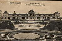 Zagreb. (Croatie). : Državni kolodvor = Gares des chemins de fer d'État. <br /> <br /> ImpresumZagreb : Naklada papirnice A. Brusina, [između 1906 i 1918].<br /> Materijalni opis1 razglednica : tisak ; 8,6 x 13,7 cm.<br /> NakladnikTiskara A. Brusina<br /> Mjesto izdavanjaZagreb<br /> Vrstavizualna građa • razglednice<br /> ZbirkaZbirka razglednica • Grafička zbirka NSK<br /> Formatimage/jpeg<br /> PredmetZagreb –– Trg kralja Tomislava<br /> SignaturaRZG-TOM-30<br /> Obuhvat(vremenski)20. stoljeće<br /> NapomenaRazglednica je putovala.<br /> PravaJavno dobro<br /> Identifikatori000953607<br /> NBN.HRNBN: urn:nbn:hr:238:473764 <br /> <br /> Izvor: Digitalne zbirke Nacionalne i sveučilišne knjižnice u Zagrebu