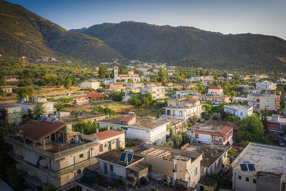 Town of Methana, Greece