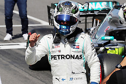 May 11, 2019 - Montmelò.Montmel&#Xf2, Catalunya, Spain - xa9; Photo4 / LaPresse.11/05/2019 Montmelo, Spain.Sport .Grand Prix Formula One Spain 2019.In the pic: Valtteri Bottas (FIN) Mercedes AMG F1 W10 pole position (Credit Image: © Photo4/Lapresse via ZUMA Press)