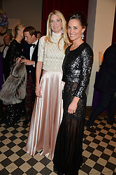 Left to right, LADY JUBIE WIGAN and PIPPA MIDDLETON at the Sugarplum Dinner - The event was for the launch of Sugarplum Children, a new website and fundraising initiative for children who live with type 1 diabetes, and to raise money for JDRF (Juvenile Diabetes Research Foundation) held at One Mayfair, 13A North Audley Street, London on 20th November 2013.
