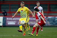 Gary Stopforth. Kidderminster Harriers FC 2-2 Stockport County FC, 13.1.18. Buildbase FA Trophy