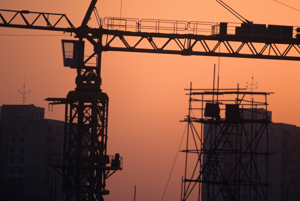 contruction in Beijing, China, PRC,, Middle Kingdom,