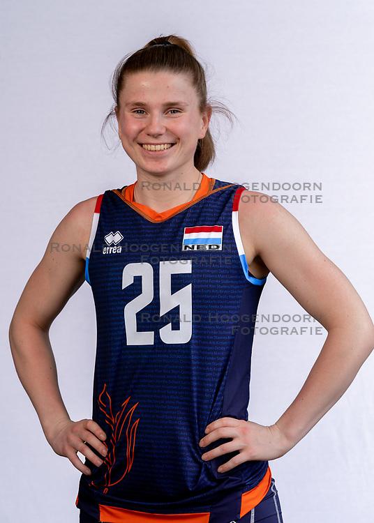 Florien Reesink of Netherlands, Photoshoot selection of Orange women's volleybal team season 2021on may 12, 2021 in Arnhem, Netherlands (Photo by RHF Agency/Ronald Hoogendoorn)