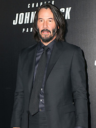 Keanu Reeves and Halle Berry are seen attending Premiere of 'John Wick: Chapter 3 - Parabellum' in New York City. NON-EXCLUSIVE May 9, 2019. 09 May 2019 Pictured: Keanu Reeves. Photo credit: Nancy Rivera/Bauergriffin.com / MEGA TheMegaAgency.com +1 888 505 6342