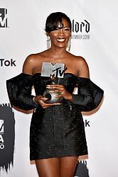 November 4, 2018 - Bilbao, Bizkaia, Spanien - Tiwa Savage bei der Verleihung der MTV European Music Awards 2018 in der Bizkaia Arena. Bilbao, 04.11.2018 (Credit Image: © Future-Image via ZUMA Press)