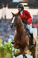 Elizabeth MADDEN (USA) riding Darry Lou during the Nations Cup of the World Equestrian Festival, CHIO of Aachen 2018, on July 13th to 22th, 2018 at Aachen - Aix la Chapelle, Germany - Photo Christophe Bricot / ProSportsImages / DPPI