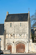 The former convent of Saint-Vigor-le-Grand in Bayeux, Normandy. It was the Chaplain at Saint-Vigor-le-Grand, Dom Aubourg, who in 1944 folloing the D-Day landings alerted the Allies that the German troops had fled Bayeux. Normandy, France © Rudolf Abraham