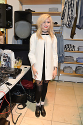 NINA NESBITT at a party to celebrate the launch of French Connection's #CANTHELPMYSELFIE -The UK's first in-store interactive selfie booths and windows held at French Connection, 249-251 Regent Street, London on 15th April 2014.