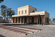 Israel, Tel Aviv, Neve Tzedek, Hatachana complex, a renovated Ottoman train station that was originally built to serve Jaffa