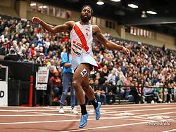 2020 USATF Indoor Championship<br /> Albuquerque, NM 2020-02-15<br /> photo credit: © 2020 Kevin Morris<br /> mens 400m final, NYAC