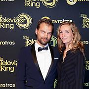 NLD/Amsterdam/20181011 - Televizier Gala 2018, Daan Nieber en partner