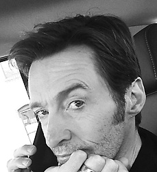 """Hugh Jackman releases a photo on Instagram with the following caption: """"Traffic. Conference call. Hungry."""". Photo Credit: Instagram *** No USA Distribution *** For Editorial Use Only *** Not to be Published in Books or Photo Books ***  Please note: Fees charged by the agency are for the agency's services only, and do not, nor are they intended to, convey to the user any ownership of Copyright or License in the material. The agency does not claim any ownership including but not limited to Copyright or License in the attached material. By publishing this material you expressly agree to indemnify and to hold the agency and its directors, shareholders and employees harmless from any loss, claims, damages, demands, expenses (including legal fees), or any causes of action or allegation against the agency arising out of or connected in any way with publication of the material."""