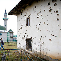 """USE ARROWS ← → on your keyboard to navigate this slide-show<br /> <br /> Broja Village, Kosovo 19 February 2011<br /> Ruins of Broja mosque, damaged during the Kosovo war 98-99.<br /> After the Kosovo War and the 1999 NATO bombing of Yugoslavia, the territory of Kosovo came under the interim administration of the United Nations Mission in Kosovo (UNMIK), and most of those roles were assumed by the European Union Rule of Law Mission in Kosovo (EULEX) in December 2008. <br /> In February 2008 individual members of the Assembly of Kosovo declared Kosovo's independence as the Republic of Kosovo. Its independence is recognised by 75 UN member states. On 8 October 2008, upon request of Serbia, the UN General Assembly adopted a resolution asking the International Court of Justice for an advisory opinion on the issue of Kosovo's declaration of independence.<br /> On 22 July 2010, the ICJ ruled that Kosovo's declaration of independence did not violate international law, which its president said contains no """"prohibitions on declarations of independence"""".<br /> Photo: Ezequiel Scagnetti"""