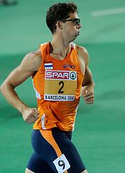 29-07-2010 ATLETIEK: EUROPEAN ATHLETICS CHAMPIONSHIPS: BARCELONA<br /> Tienkamper Eelco Sintnicolaas pakt de zilveren medaille<br /> ©2010-WWW.FOTOHOOGENDOORN.NL