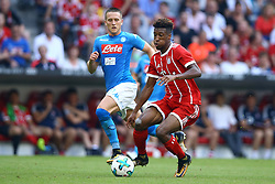 August 2, 2017 - Munich, Germany - Kingsley Coman of Bayern during the Audi Cup 2017 match between SSC Napoli v FC Bayern Muenchen at Allianz Arena on August 2, 2017 in Munich, Germany. (Credit Image: © Matteo Ciambelli/NurPhoto via ZUMA Press)